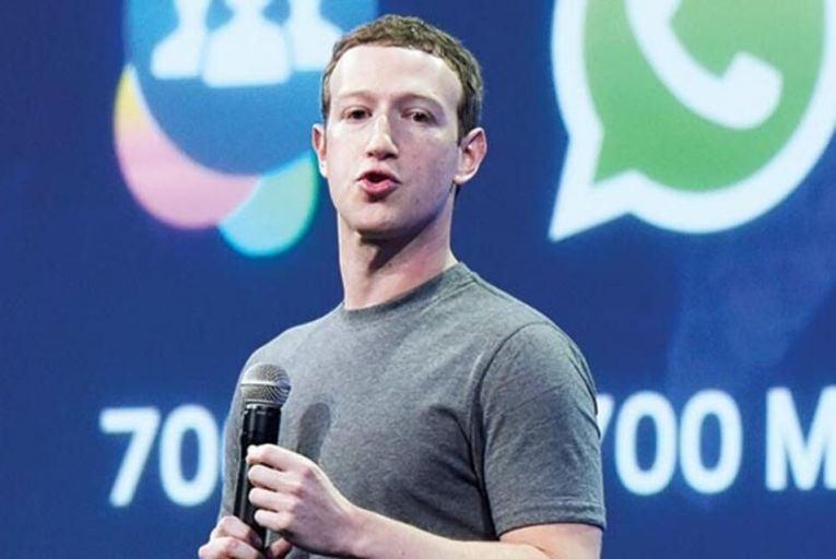 Mark Zuckerberg, Facebook chief executive Picture: Bloomberg