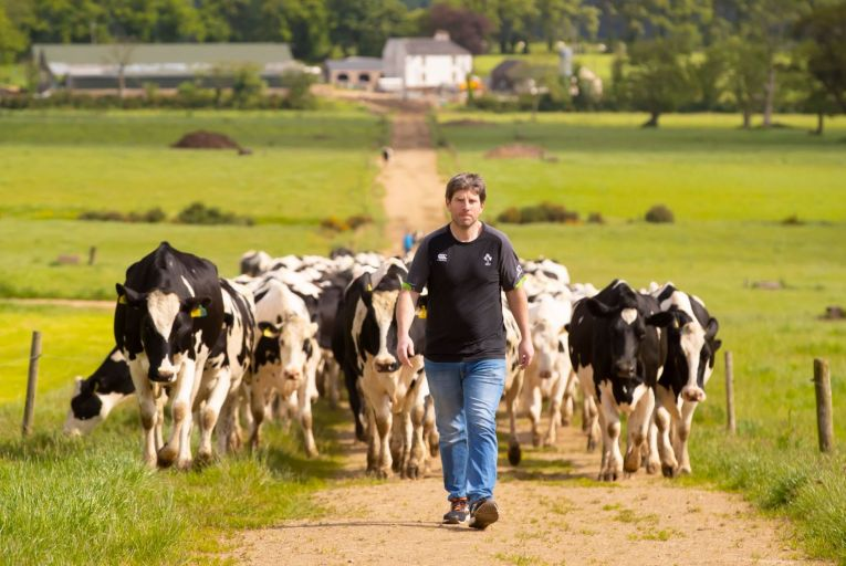 James Foley, a farmer from Coolydoody, Ballyduff Upper, Co Waterford: 'We are not hobby farming, that's for sure.' Picture: Patrick Browne
