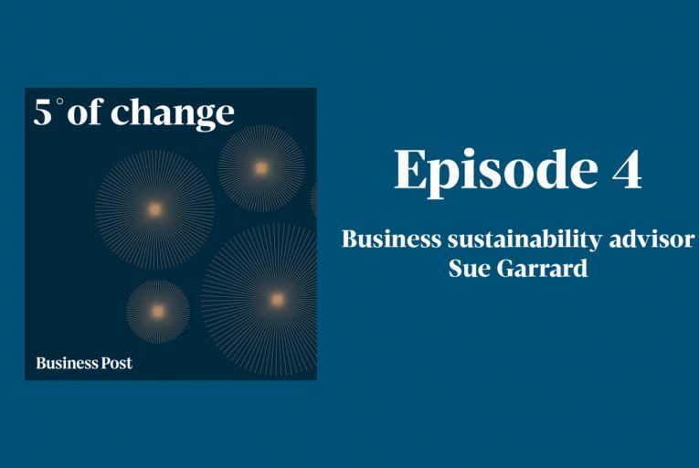 Podcast: Five Degrees of Change - Sue Garrard