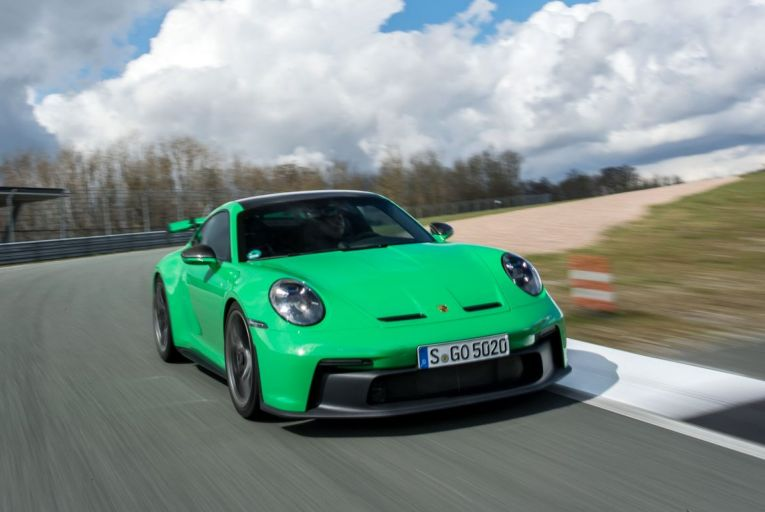 The Porsche 911 GT3 comes in at €231,041. Picture: Hoch Zwei