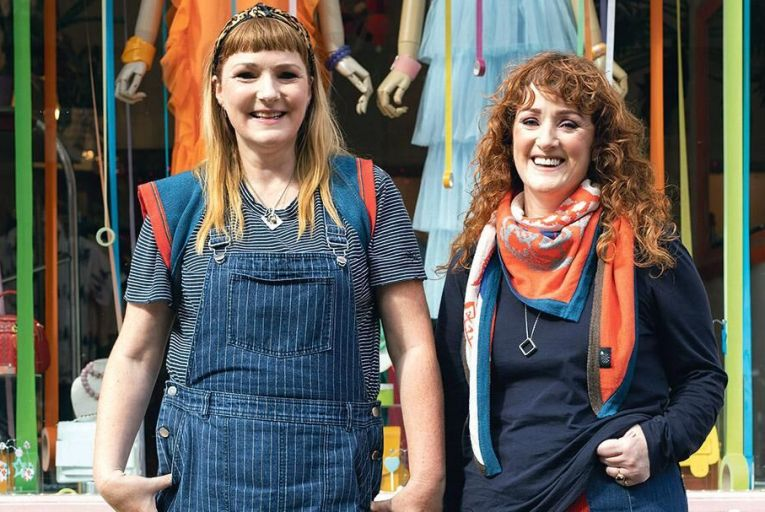 Helen Delany and Brenda Aherne of Electronic Sheep Pic: Fergal Phillips