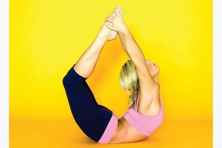 Bending body and mind to make yoga my flexible friend