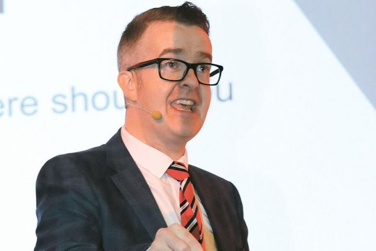 Acclaimed mentalist David Meade  was a speaker at Deloitte's Best  Managed Companoes symposium