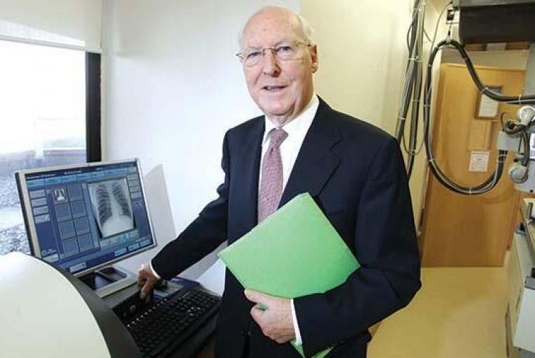Dr Jimmy Sheehan in the Blackrock Clinic Pic: Feargal Ward