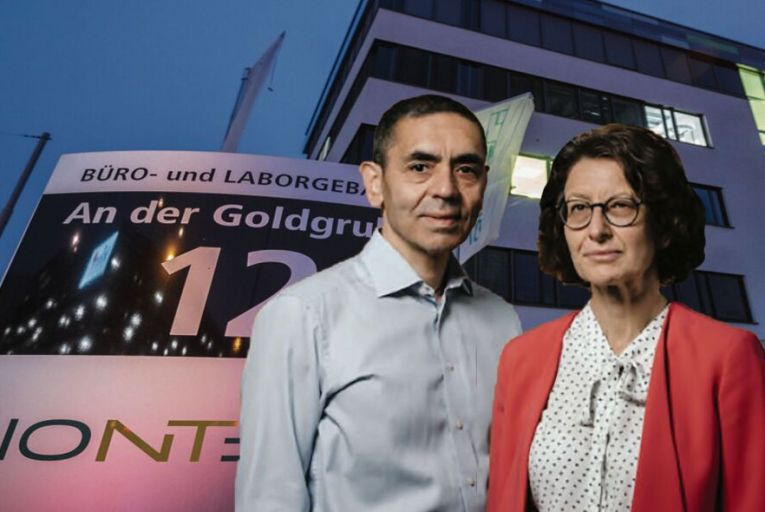 Ugur Sahin and Özlem Türeci: the husband-and-wife team behind BioNTech announced that a vaccine they have developed is 90 per cent effective against the virus that causes Covid-19