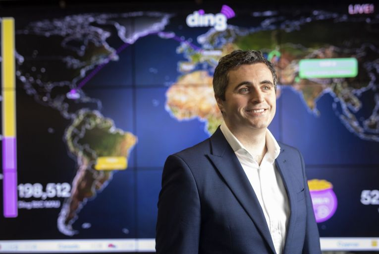 Jonathan Rockett, chief financial officer of Ding: firm is using the €300m investment to create 50 new jobs. Picture: Fergal Phillips
