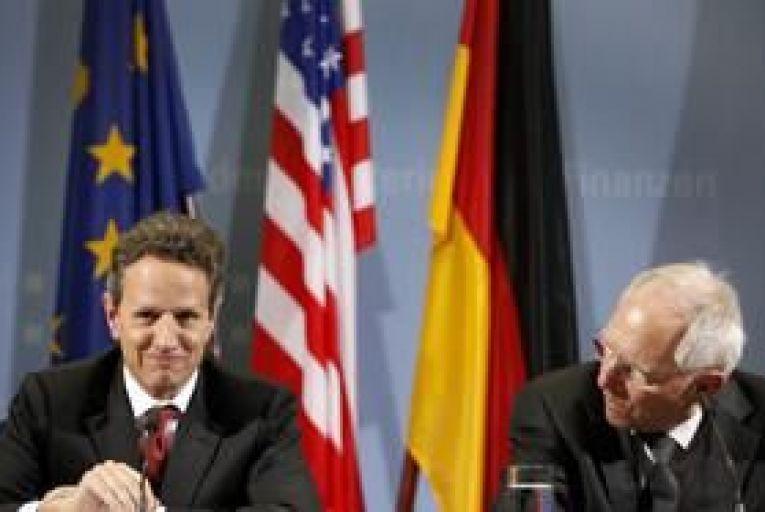 Geithner and Schaeuble welcome Irish bond sale