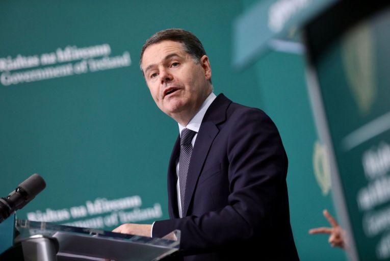 """On budget night last October, Paschal Donohoe, Minister for Finance, said: """"A deficit of €21.5 billion, or 6.2 per cent is currently projected for 2020."""""""