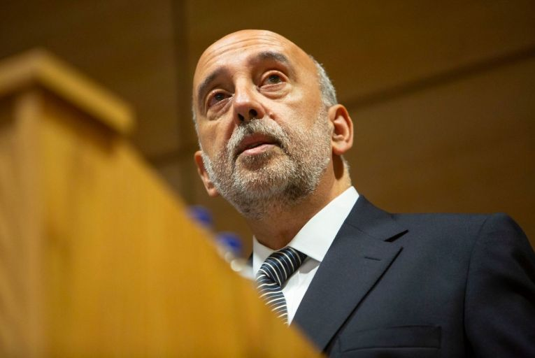 Gabriel Makhlouf, the governor of the Central Bank, urged a 'sustainable path to a more resilient medium-term position for the public finances'. Picture: Son Photographic