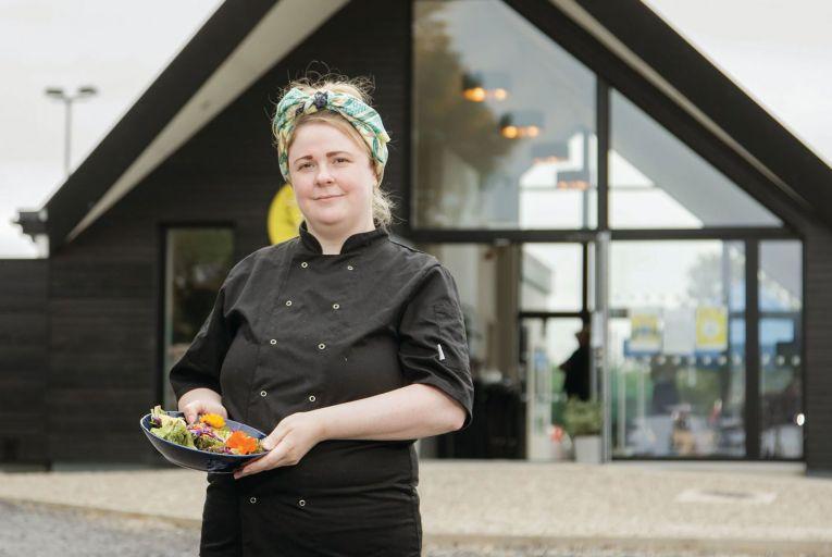 Eithna Reynolds at her Nadur Restaurant in Coolaney, Co Sligo. Picture: James Connolly