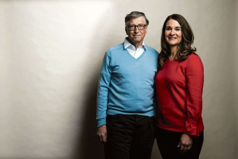 Bill and Melinda Gates will have a $130 billion fortune to divide up after their divorce. Picture: The Washington Post
