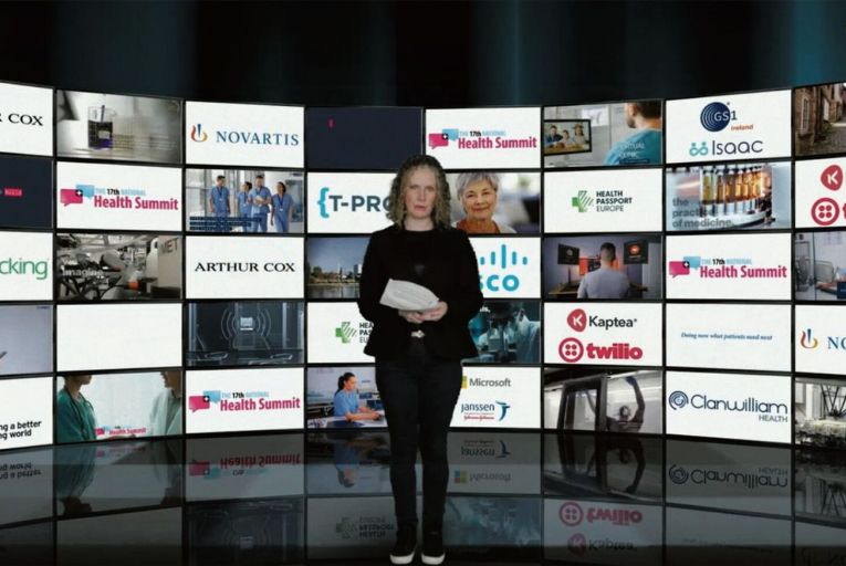 Audrey Carville, the RTÉ Morning Ireland presenter hosted the National Health Summit which took place remotely last week