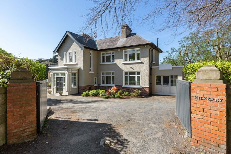 Kilkerry, a 1935 double-fronted residence on the corner of Dalkey Avenue and Killiney Road in south Co Dublin