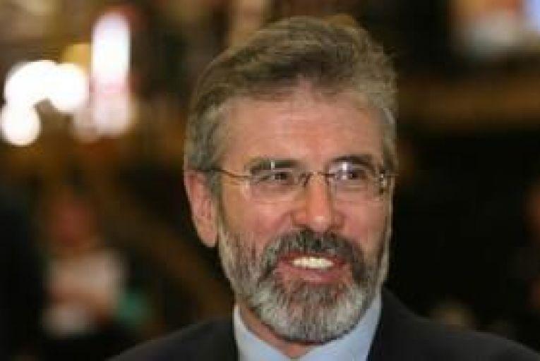 Taoiseach plays hard to get with lovestruck Adams