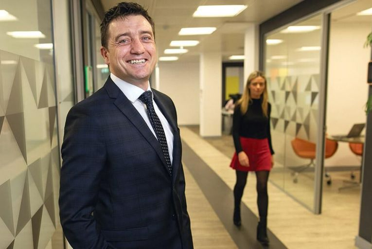 Feargal Purcell, the former government press secretary, who  has joined PR firm Edelman Picture: Fergal Phillips