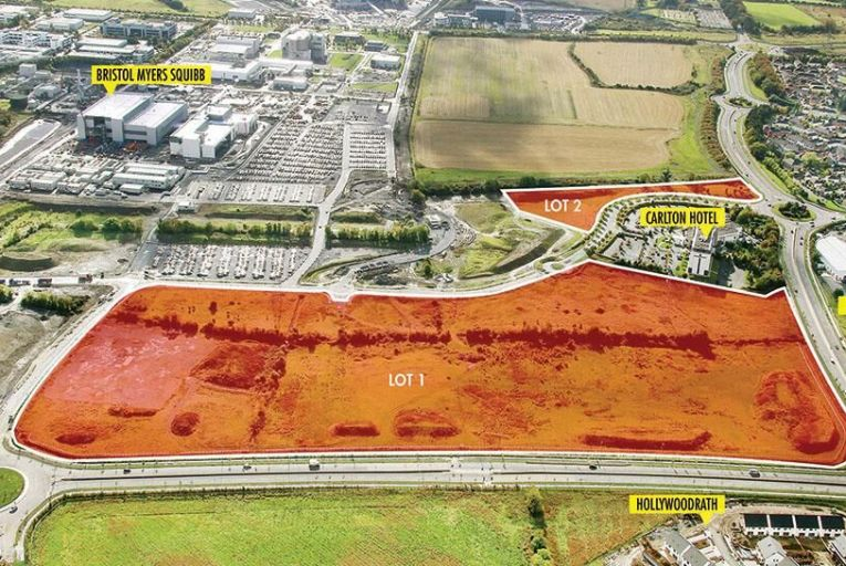 Development lands in Wicklow and Dublin