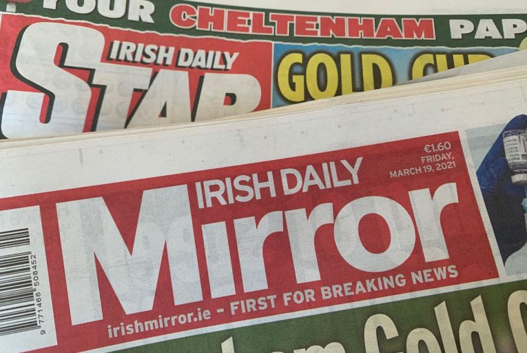 Reach, which owns the Irish Mirror, completed its acquisition of the Irish Daily Star in November