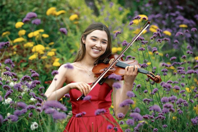 Julieanne Forrest from Johnstown in Navan, Co Meath, last year's winner of the €5,000 Top Security/Frank Maher Classical Music Awards. Picture: Peter Houlihan