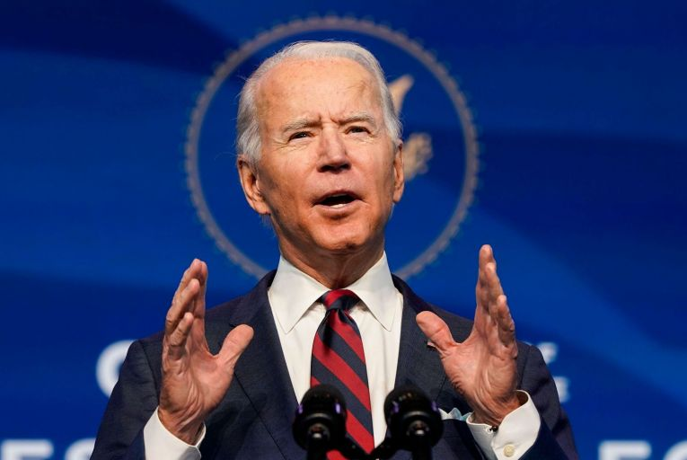 Joe Biden will become the 46th US president on January 20. Picture: Getty