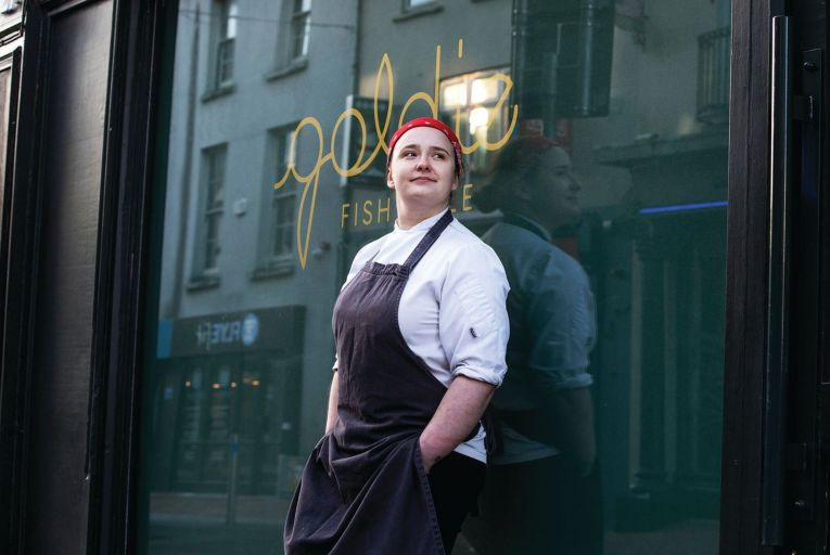 Aishling Moore head chef of Goldie Picture: Clare Keogh