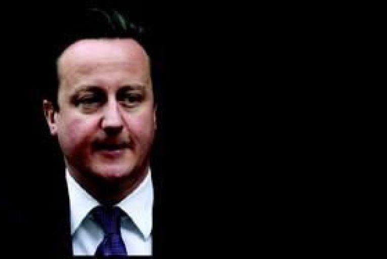A lone figure on the EU bloc