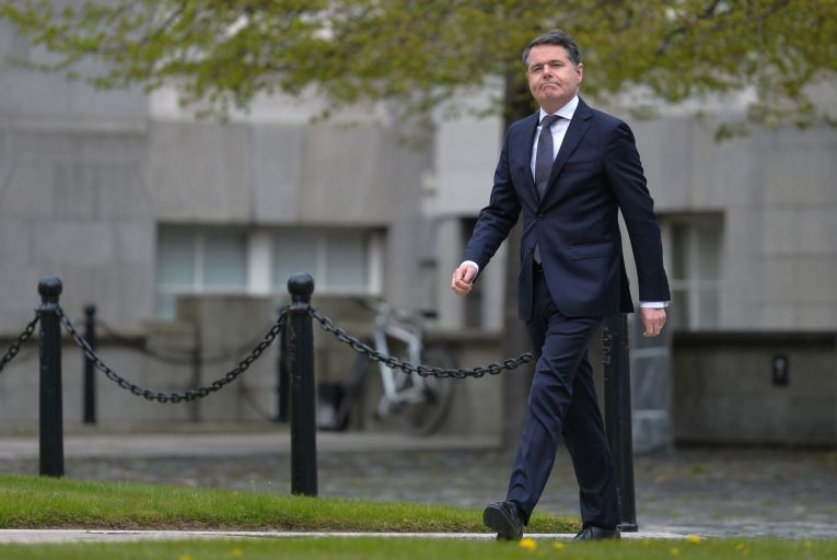 Paschal Donohoe, the Minister for Finance, was told by PwC that the government was right not to commit to the OECD's proposed tax reforms