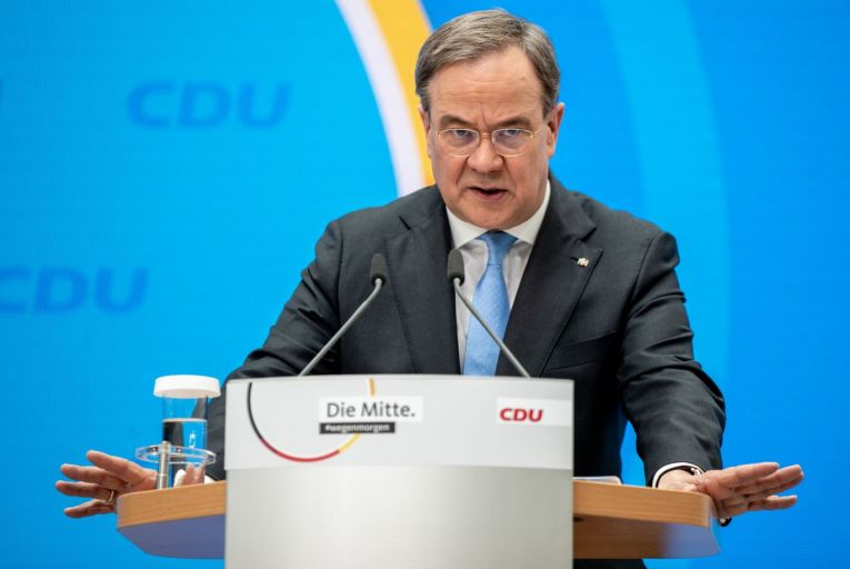 'The future of fiscal policy in Europe will be decided by the outcome of the German elections in September. The probable outcome of this election is a Christian Democratic Union-led government, with Armin Laschet as German Chancellor.' Picture: Getty