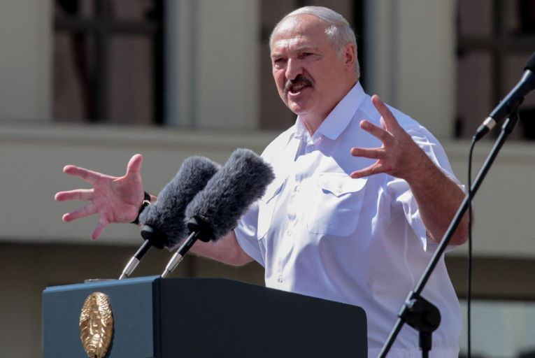 Aleksandr Lukashenko indulged in his most cowardly act yet, when he ordered the interception of a Ryanair plane carrying mostly EU passengers flying between two EU cities