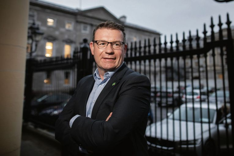 Labour party leader Alan Kelly: 'Once Covid-19 is over you'll see a work level in the Labour Party which you haven't seen in many many years. That will come from the leadership like me all the way through the parliamentary party and down and across.'  Picture: Fergal Phillips