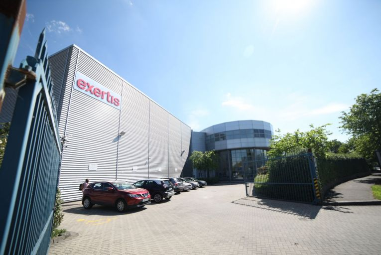 Exertis has moved to Fonthill in Dublin 12 and put its headquarters at M50 Business Park in Ballymount in Dublin 12 up for sale with a guide price of €9 million