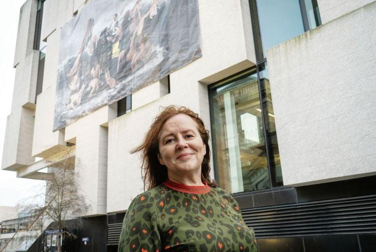 Rita Duffy and The Raft at Trinity College. Picture: Stanislav Nikolov