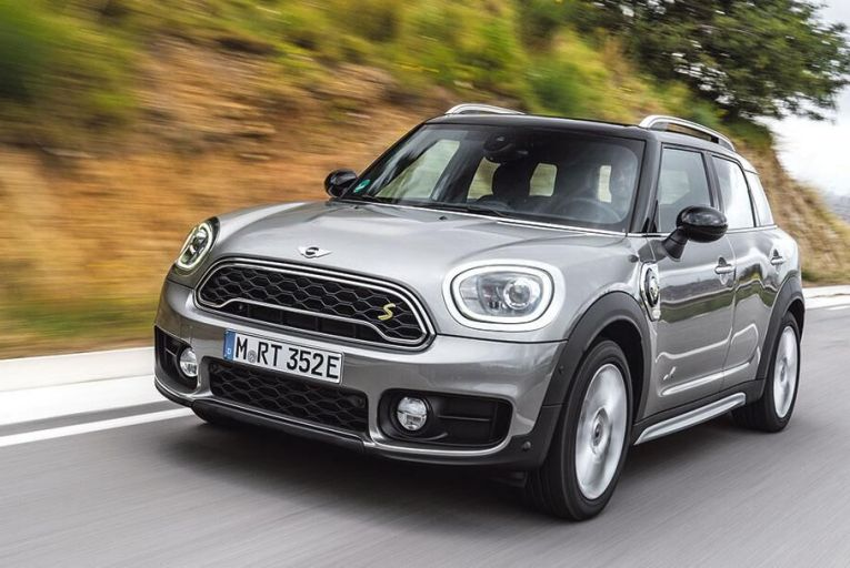 Mini looks to the future with its first plug-in hybrid