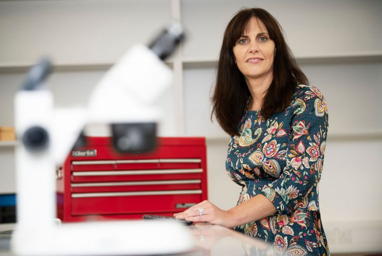 Paula Newell, AVeta Medica's founder and chief exeuctive: 'There's a reason why the 'A' and 'V' in our title are capitalised. With 'AV', we've got two letters that reverse vaginal atrophy, and that's what we want to do.' Picture: Andrew Downes, Xposure
