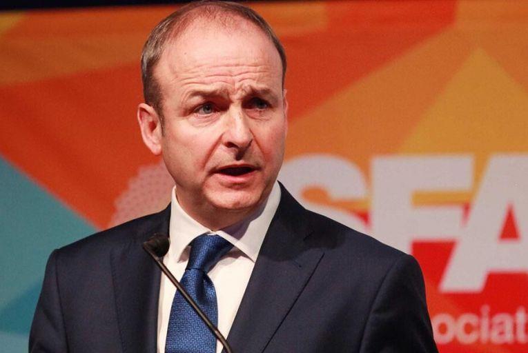 Fianna Fáil,leader Micheál Martin