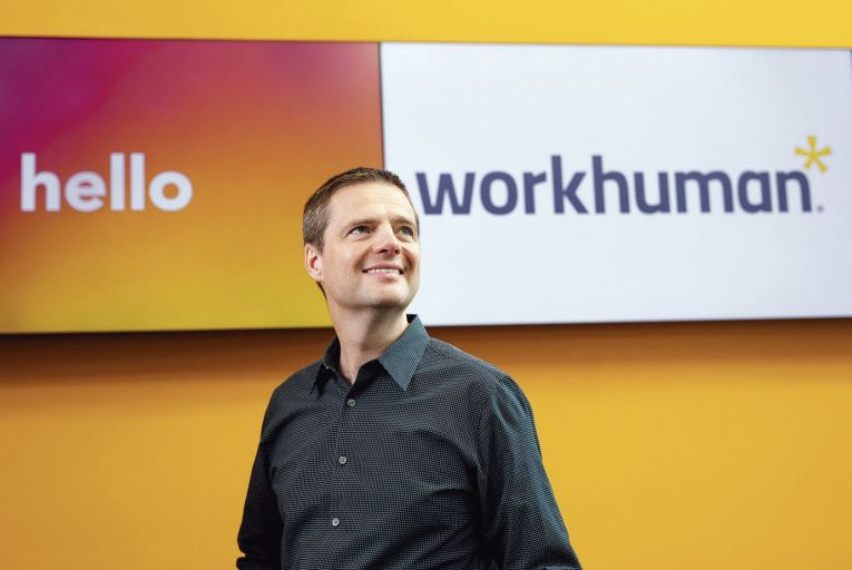 Eric Mosley, chief executive of Workhuman, which hit the fabled €1 billion valuation mark this year. Photo: Fergal Phillips