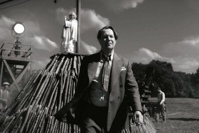 Gary Oldman plays troubled Citizen Kane screenwriter Herman J Mankiewicz in director David Fincher's 'Mank'