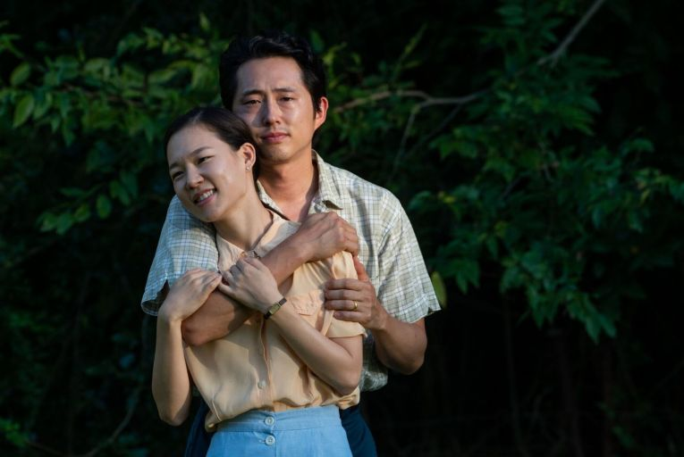 Yeri Han and Steven Yeun in Minari: a powerful story of immigration, assimilation and the American Dream