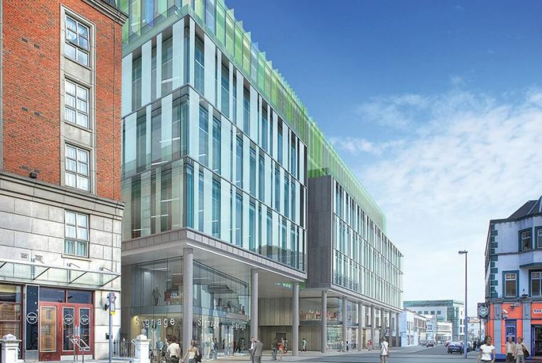 Artist's impression of the planned Cumberland Place