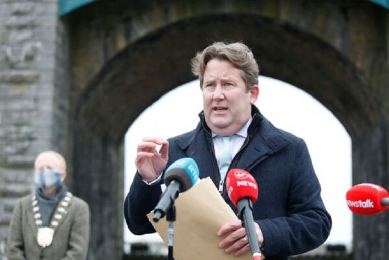 """Minister for Housing Darragh O'Brien said there was a """"strong pipeline"""" of 8,555 new social homes under construction and more than 9,000 homes at various stages of the approval process. Picture: Rollingnews.ie"""