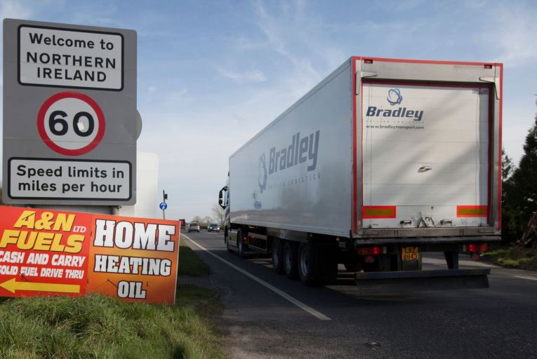 Tensions have risen over delays in goods crossing the border into Northern Ireland Picture: RollingNews