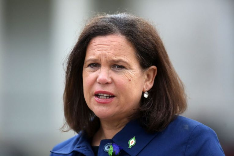 Mary Lou McDonald, the Sinn Féin leader, said the Taoiseach was 'content to allow funds rip off citizens'. Picture: Rollingnews.ie