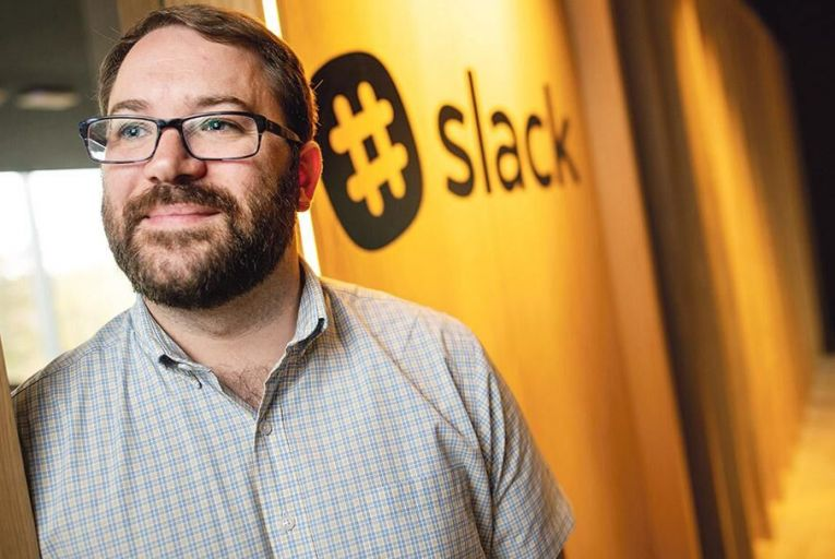 Cal Henderson, co-founder and chief technology officer of Slack Fergal Phillips