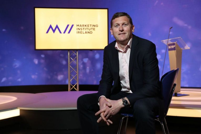 David Field, chief executive of the Marketing Institute of Ireland: The pandemic has caused business leaders to develop a deeper appreciation of effective marketingFergal Phillips.
