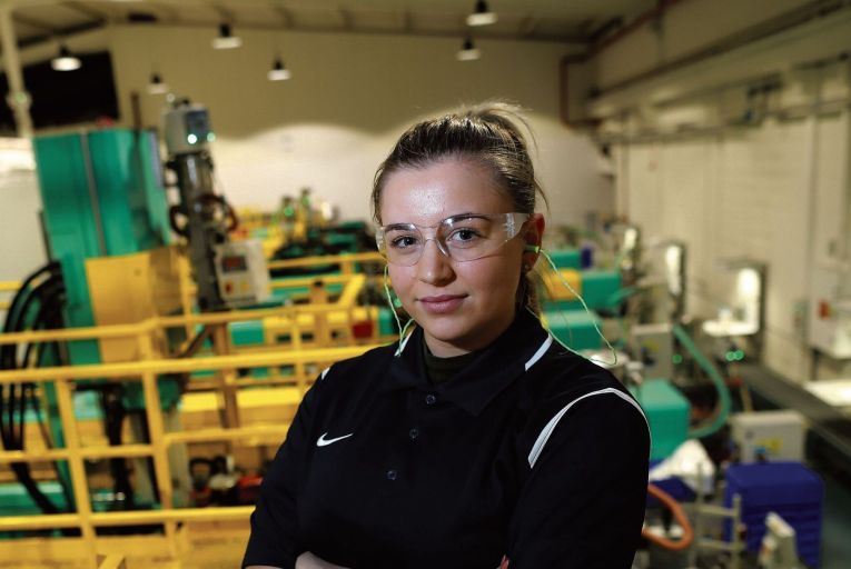 There is a new drive to dispel the myth that apprenticeships are only for men Picture: Maxwells