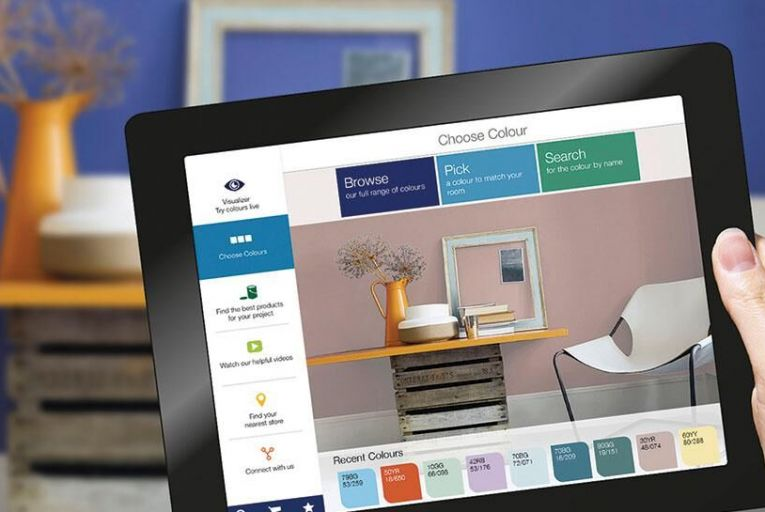 The Dulux Visualiser app: simple but clever