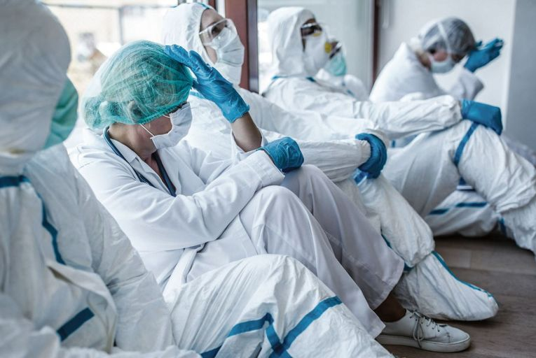 Falling on the frontline: why are so many of our healthcare workers getting the virus?