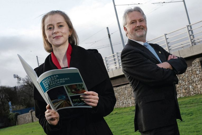 Sarah Cullen and Denis Duff are promoting the development of nuclear energy in Ireland Fergal Phillips
