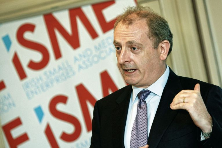 Neil McDonnell, chief executive of Isme: new plan 'a great initiative'. Picture: Karen Morgan/Lensmen