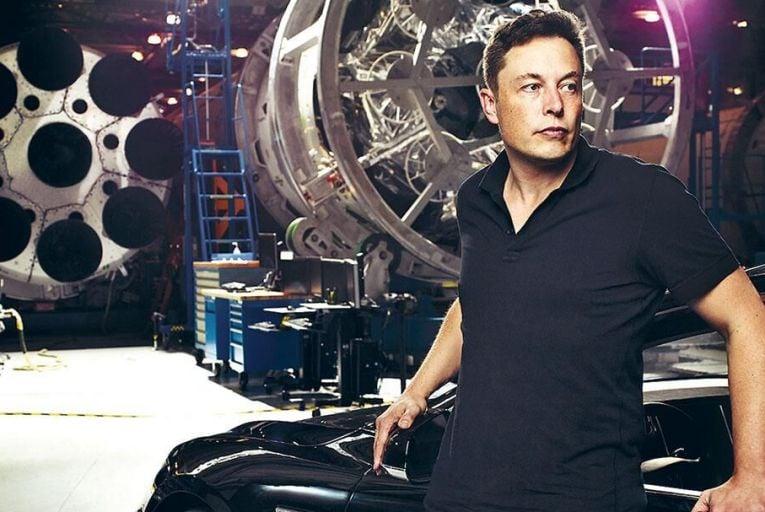 Elon Musk, billionaire founder  of Tesla: designs on the future