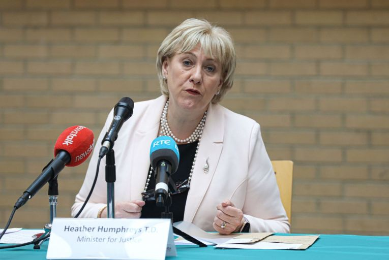 Heather Humpreys, the Minister for Justice, announced an additional €145 million allocated for the justice sector in Tuesday's budget announcement. Picture: Rollingnews.ie